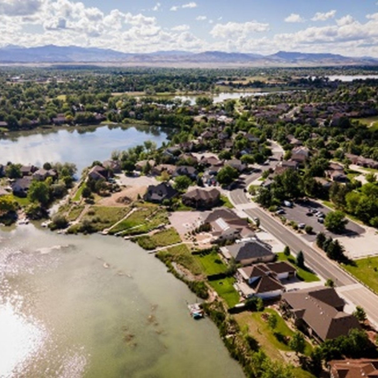 Aerial of the City of Loveland