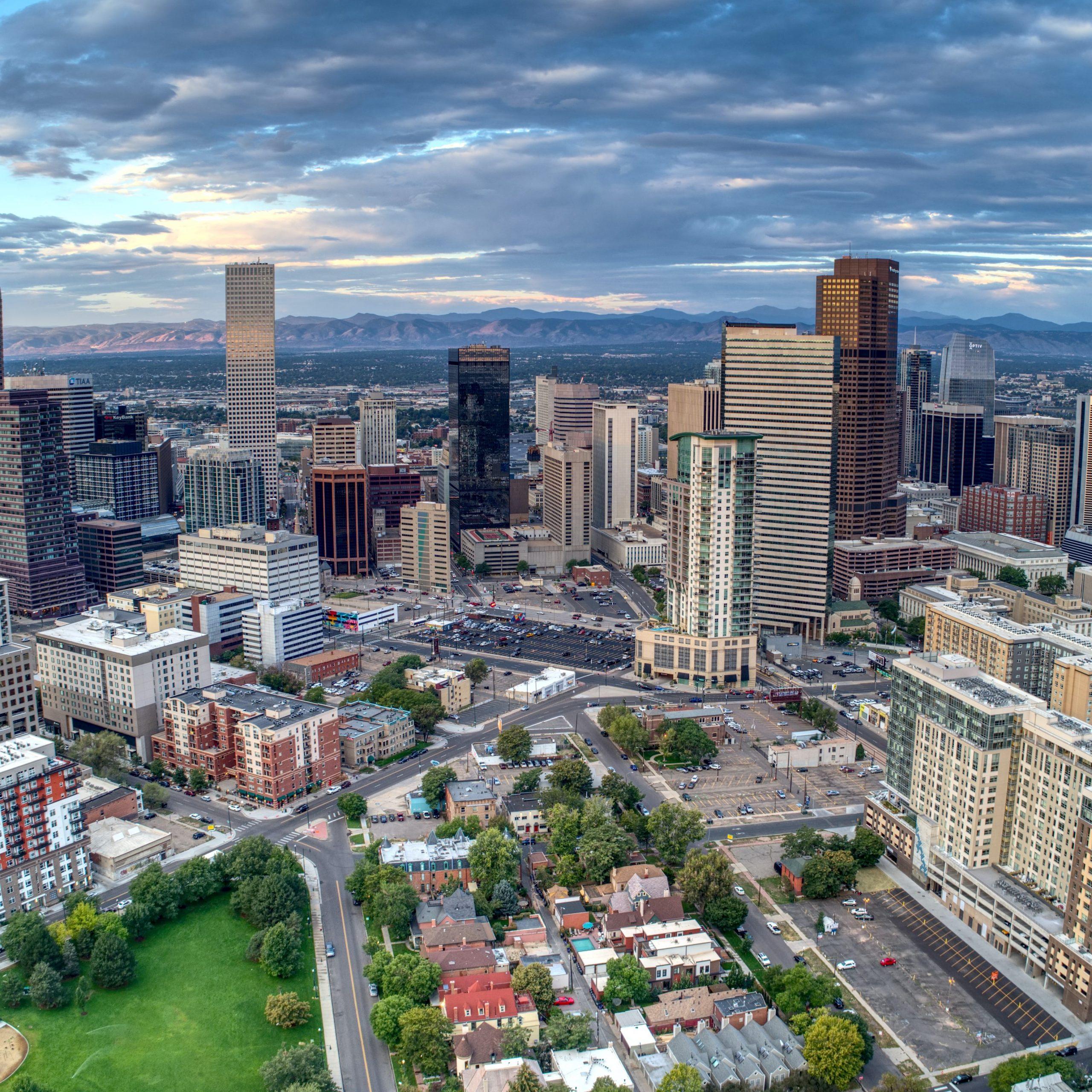 City of Denver skyline